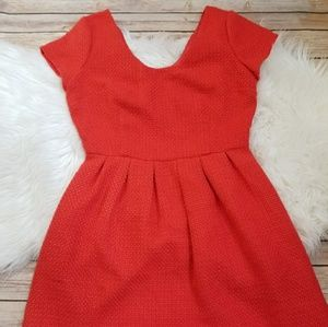 Pim + Larkin Poppy Fit N Flare Dress